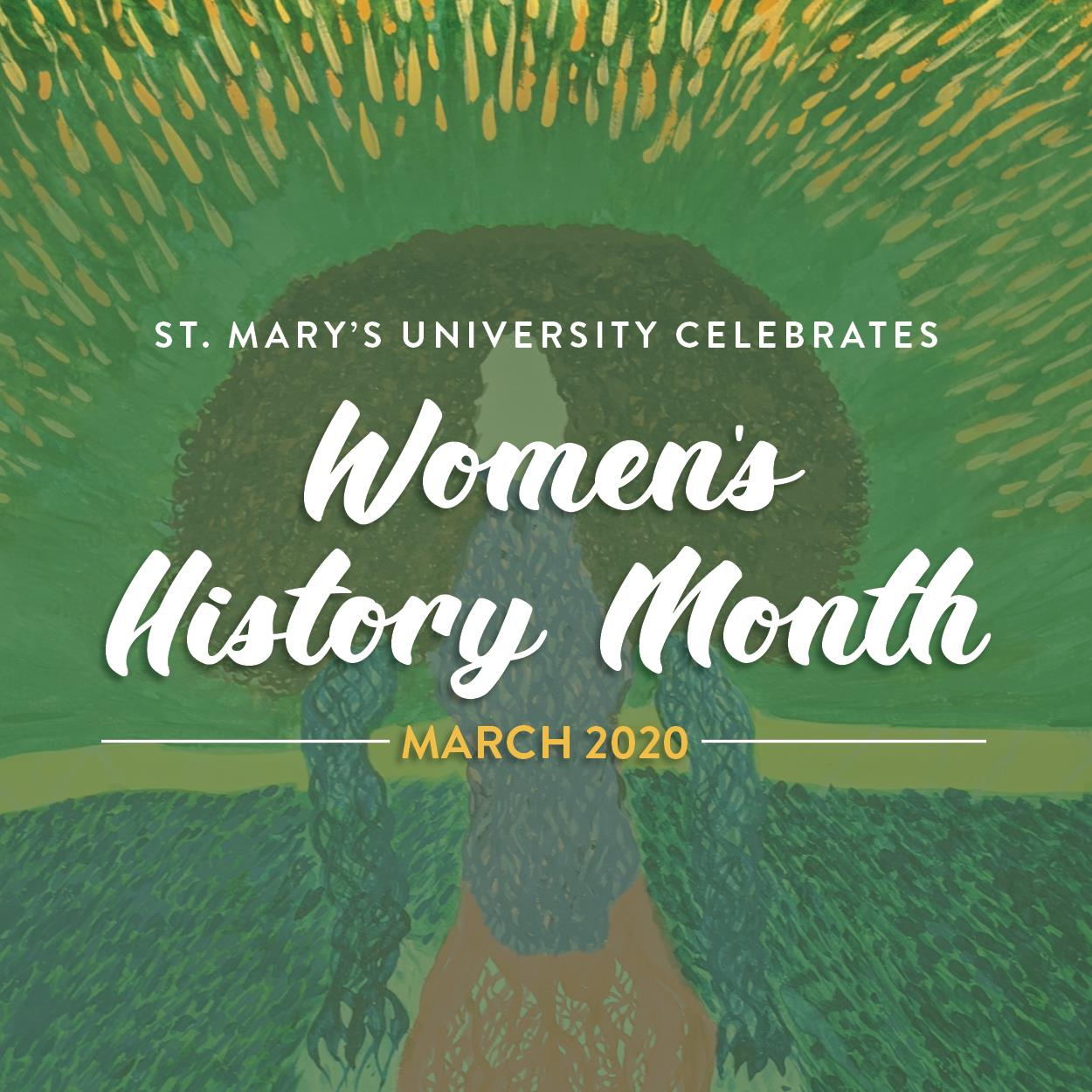 "StMU Celebrates WHM - March 2020. ""Growth in Progress"" by Michelee Vasquez"