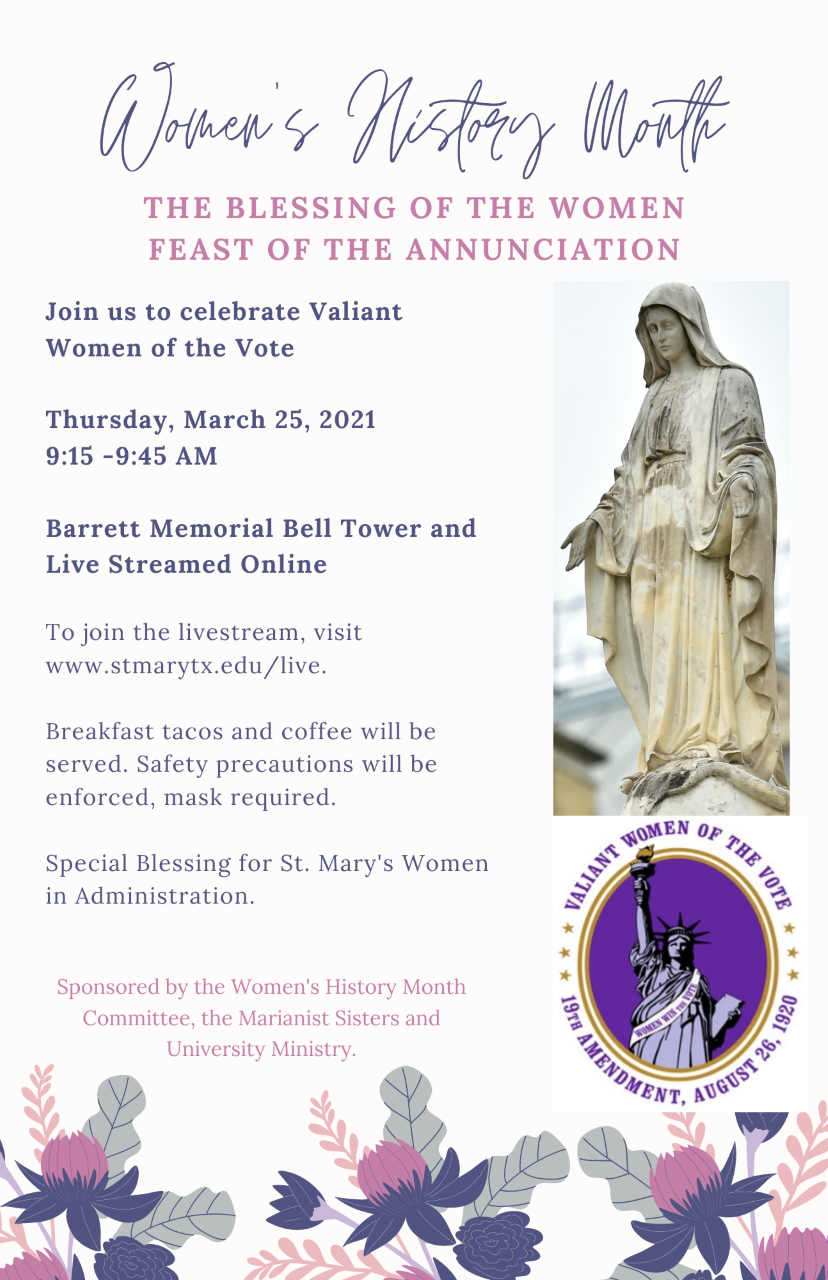 Blessing of the Women - Feast of the Annunciation - March 25, 2021