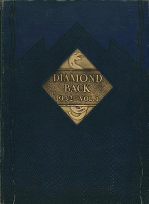 cover of one issue of the Diamondback