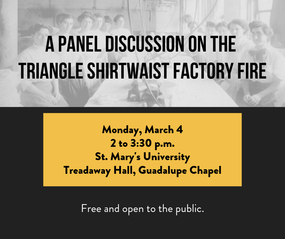 Panel Discussion on the Triangle Shirtwaist Factory Fire