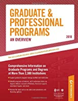 cover of Peterson's Graduate and Professional Programs