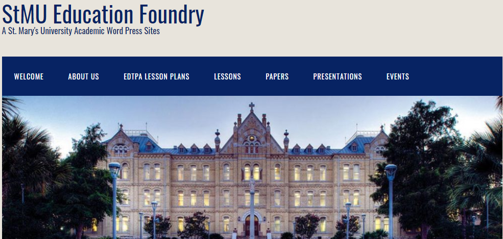 website image from StMU Education Foundery