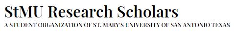 StMU Research Scholars logo