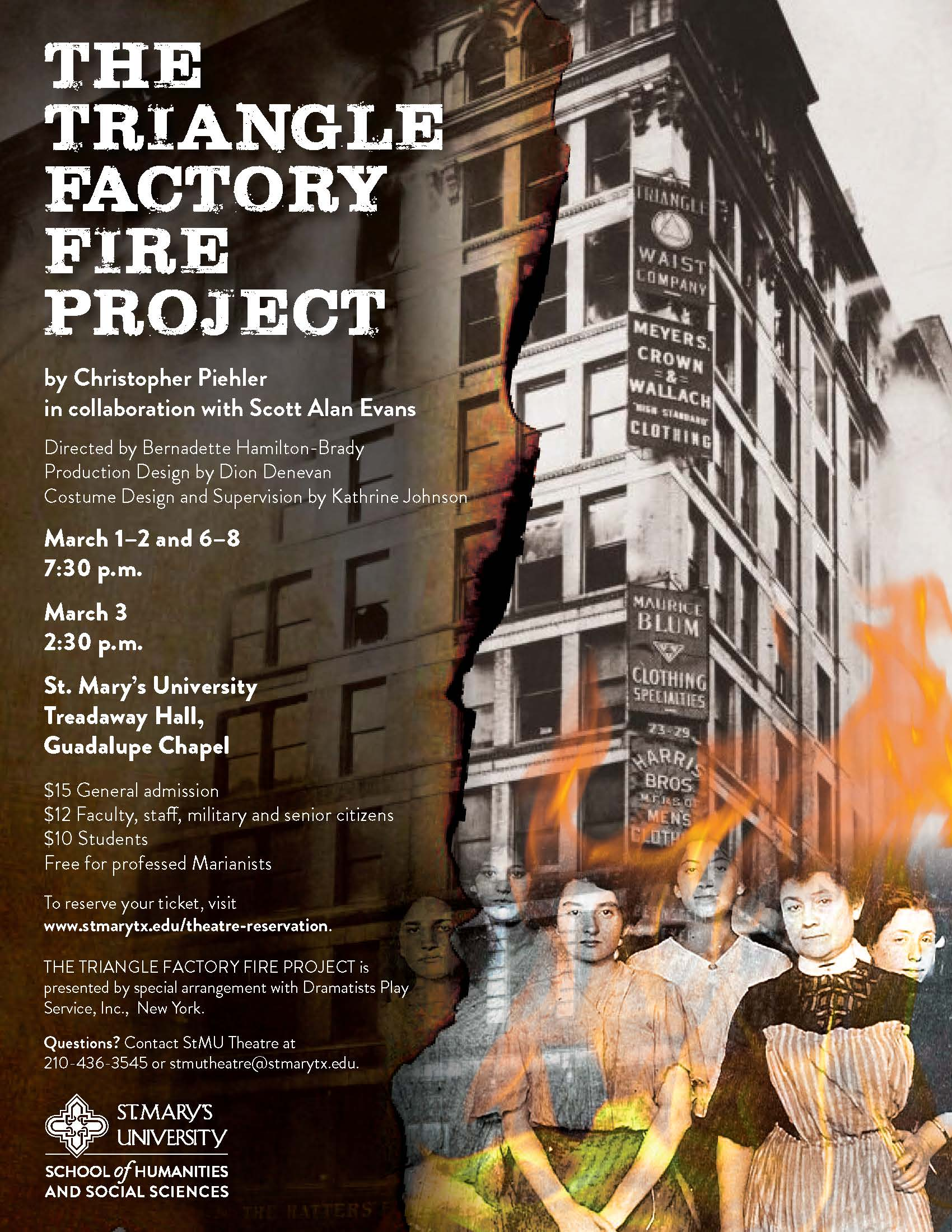 The Triangle Factory Fire Project by Christopher Piehler
