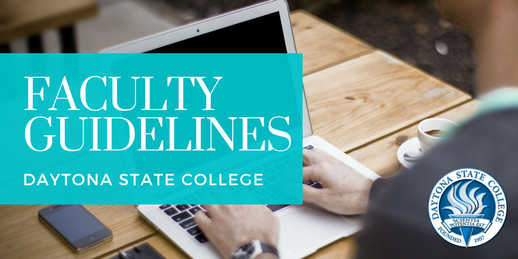 faculty guidelines header