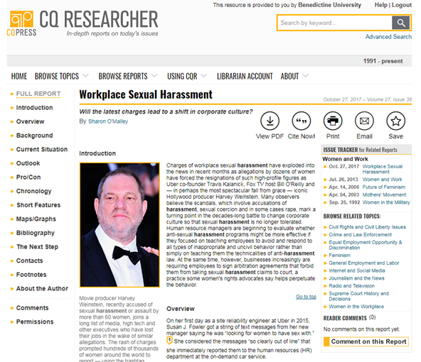 CQ Researcher