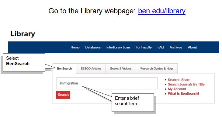 Select BenSearch