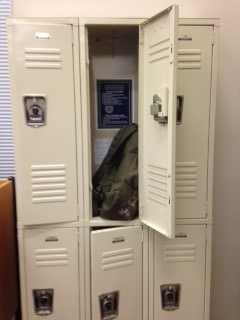 Picture of a locker
