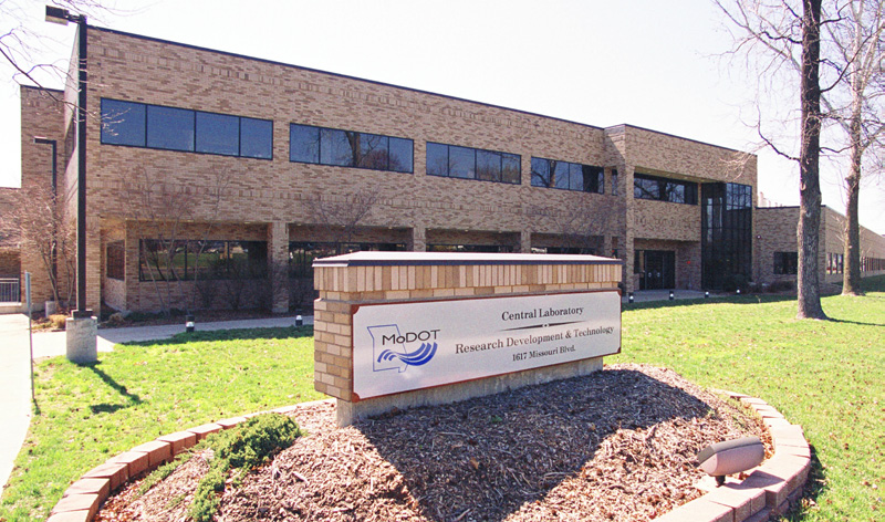 MoDOT Central Lab Building