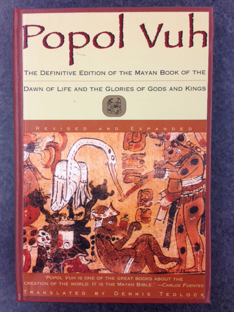 Popol Vuh, a Mayan religious and historical book