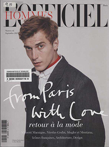 Cover of L'Officiel Hommes (2005)