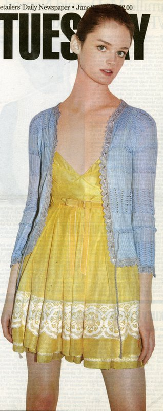 Image of yellow Marc Jacobs dress