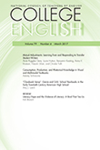 cover of College English magazine