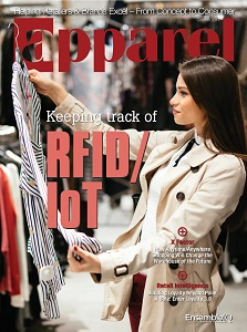 cover of Apparel magazine