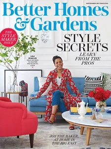 cover of Better Homes and Gardens magazine