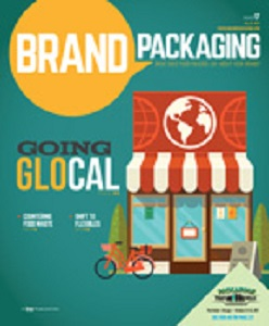 cover of Brand Packaging magazine