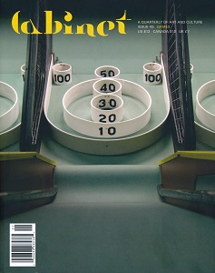cover of Cabinet magazine