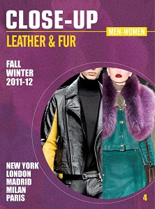 Cover of Close-Up: Leather & Fur: Men & Women