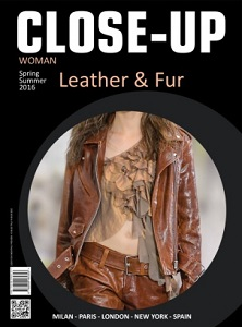 Cover of Close-Up: Leather & Fur: Woman