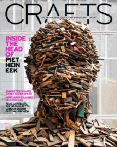 cover of Crafts magazine