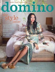 cover of Domino magazine