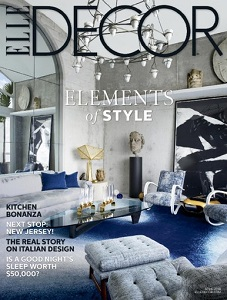 cover of Elle Decor magazine