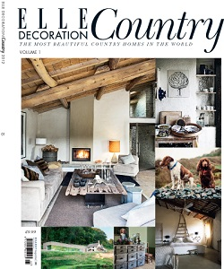Cover of Elle Decoration Country