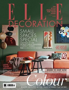 cover of Elle Decoration magazine