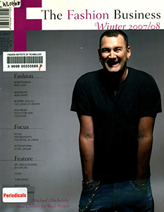 Cover of F: The Fashion Business