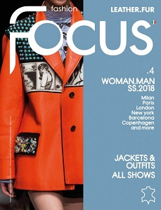 cover of Fashion Focus Leather Fur Woman Man