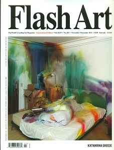 cover of Flash Art International