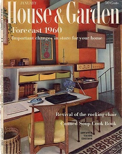 Cover of House and Garden