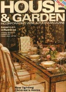 Cover of House and Garden [British]