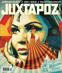 cover of Juxtapoz