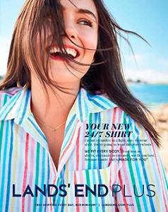 cover of Land's End catalog