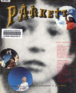 Cover of Parkett