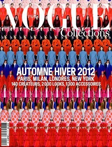cover of Vogue Paris Collections