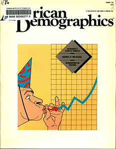 Cover of American Demographics