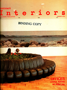 Cover of Contract Interiors