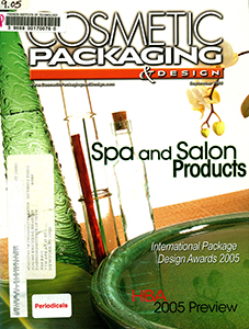 Cover of Cosmetic Packaging & Design