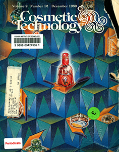 Cover of Cosmetic Technology