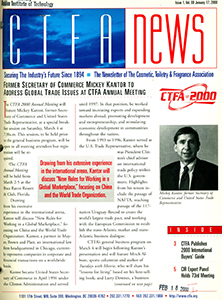 Cover of CTFA News