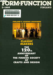 Cover of Form, Function, Finland