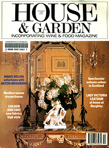 Cover of House and Garden Conde Naste