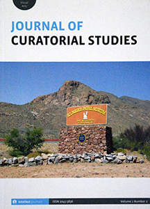 Cover of the Journal of Curatorial Studies