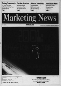 Cover of Marketing News