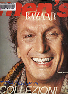 Cover of Men's Harper's Bazaar Italia