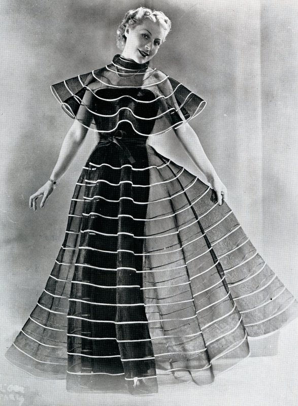 Evening dress by Jeanne Lanvin