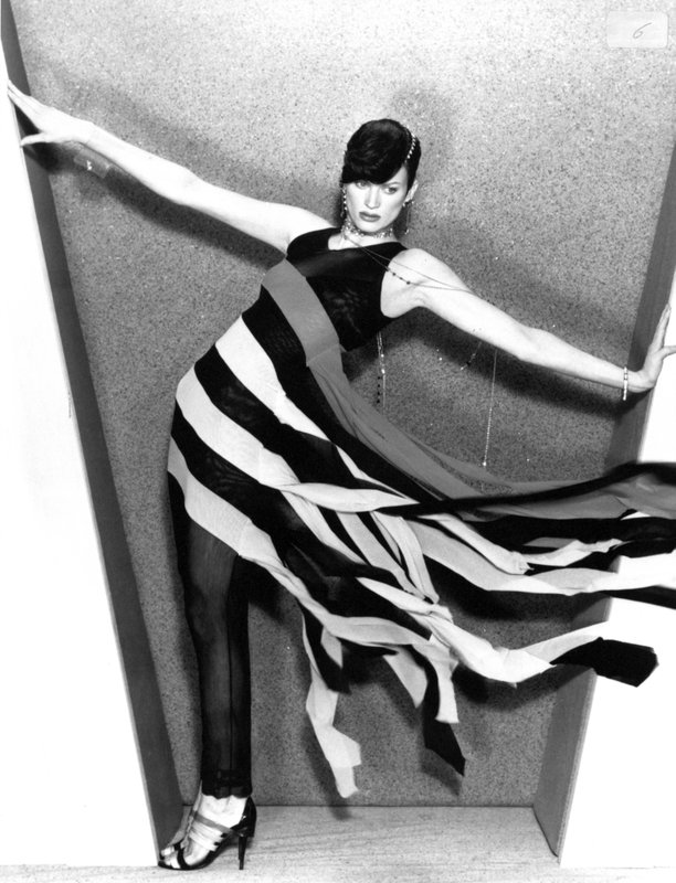 Striped dress by Karl Lagerfeld
