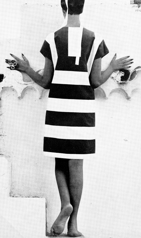 Striped dress by Marimekko